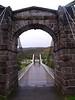 Oich River Suspension Bridge.