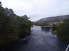 Historic Bridge of Oich. Suspension bridge over the River Oich now managed by Historic Scotland.
