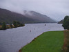Loch Oich from the Calendonian Canal Bridge.