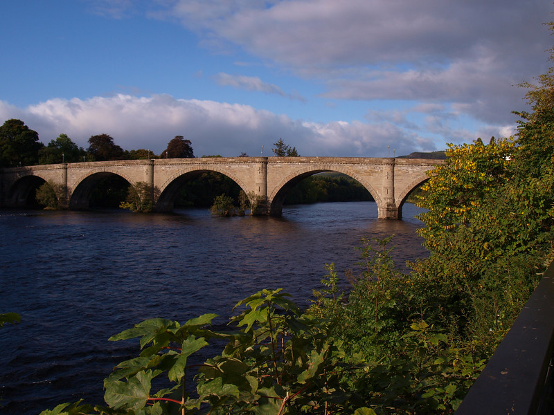 River Tay Bridge between Dunkeld and Birnam