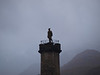 Glenfinnan Monument to the 1745 Jacobite Uprising.