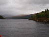 Grim weather over Loch Katrine.