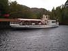 """The Steamship """"Sir Walter Scott"""", Trossachs Pier, Loch Katrine"""