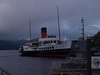 "Paddle Steamer ""Maid of the Loch"", Balloch Pier, Loch Lomond."
