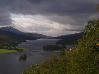 Queens View, Loch Tummell and Loch Rannoch