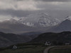 Snowcapped peaks in Dundonnell area.