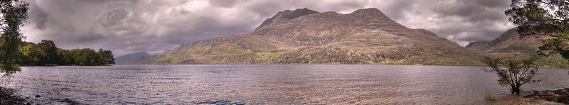 Loch Maree, Wester Ross<br /> <br /> Viewed from Coillie Na Glas-Leitire car park and picnic area.