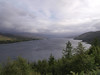 Loch Carron from the view point above Strome Ferry.