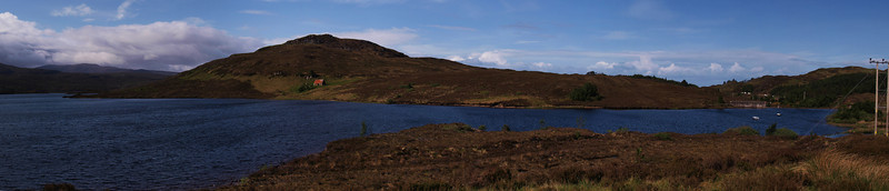 Loch Bad Na Scalaig, Wester Ross.