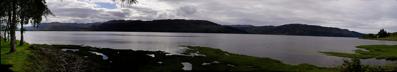 Loch Carron, from the Loch Carron Golf Club.