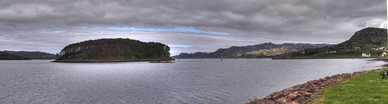Shieldaig Bay and Island, Wester Ross.