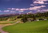 View toward Cairngorm from Ruthven Barracks.