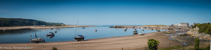 Barmouth Harbour.