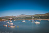 Barmouth harbour and bridge