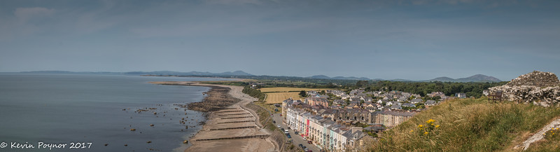 View from Criccieth Castle.