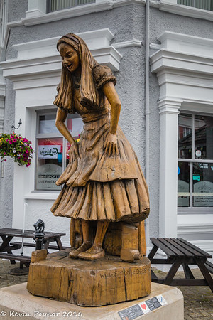 Alice in Wonderland Statues - Llandudno