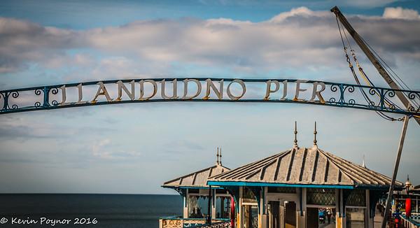 Llandudno Pier and Happy Valley 22-Jun-16
