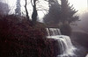 Waterfall near Skipton Castle.