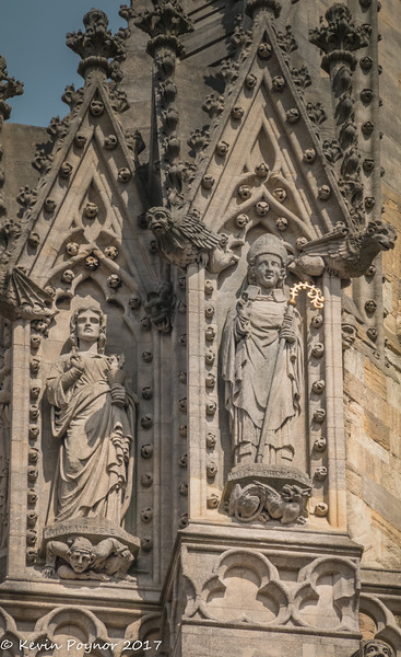 Detail on University Church of St Mary the Virgin