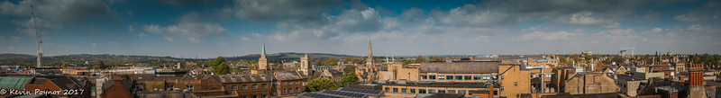 View from the top of the Carfax Tower.