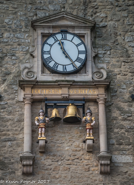 Clock on the Carfax Tower