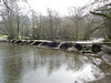 Tarr Steps Clapper Bridge - Exmoor<br /> <br /> The Tarr Steps are supposedly a prehistoric crossing of the Barle River on Exmoor. It's of typical clapper bridge design and possibly dates back to 1000B.C.