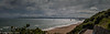 Panorama looking back to Bournemouth from East Overcliff.