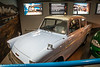 Flying Ford Anglia from Harry Potter.