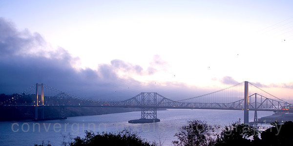 Carquinez Bridge:  6 am.
