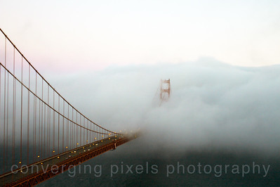 "Golden Gate Bridge; "" GGB #13"" taken from the Marin Headlines."