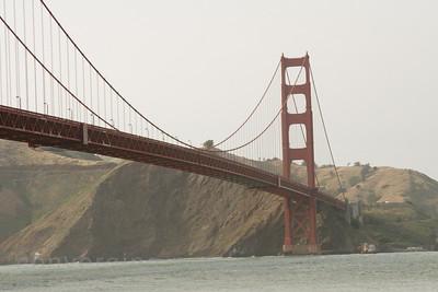 Golden Gate Bridge taken from Crissy Field