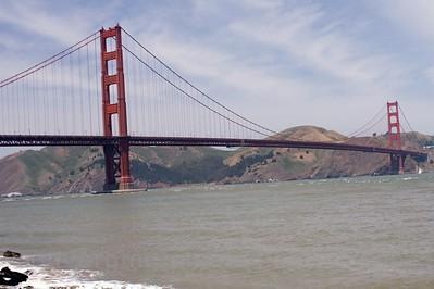 """Golden Gate Bridge; """" GGB #2"""" taken from Crissy Field.  My favorite."""