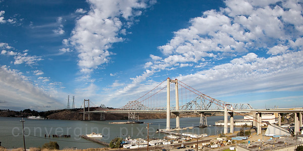 Carquinez Bridges, CA  .0584
