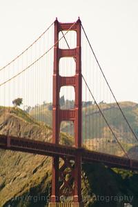 """Golden Gate Bridge; """" GGB #15"""" taken from Crissy Field."""