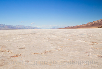 Badwater Salt Flats. -282 ft., Death Valley.  1470