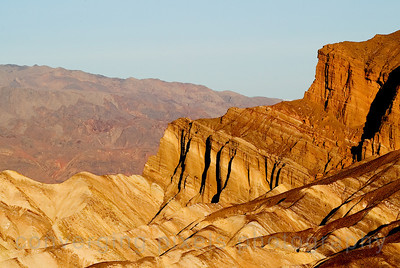 Sunrise at Zabriskie Pt., Death Valley.  2949pe