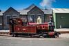 "Loco No. 4 ""Loch"" at Port Erin Station."
