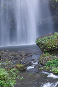 """Multomah  Falls 6"" , Columbia River Gorge, Oregon side."