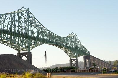 Mc Cullough Bridge, Coos Bay, Oregon.  8185