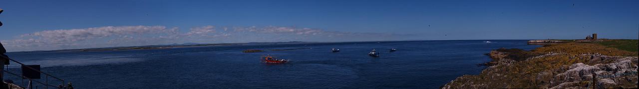 Staple Island Landing Point. Farnes, Northumberland.