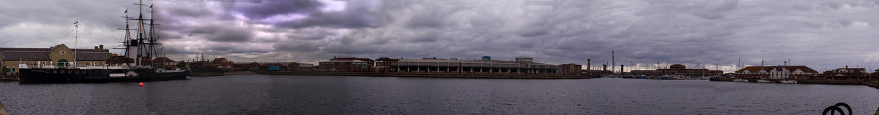 Hartlepool Marina and Historic Dock.