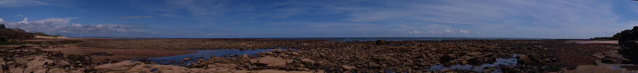 The beach at Cresswell, Northumberland