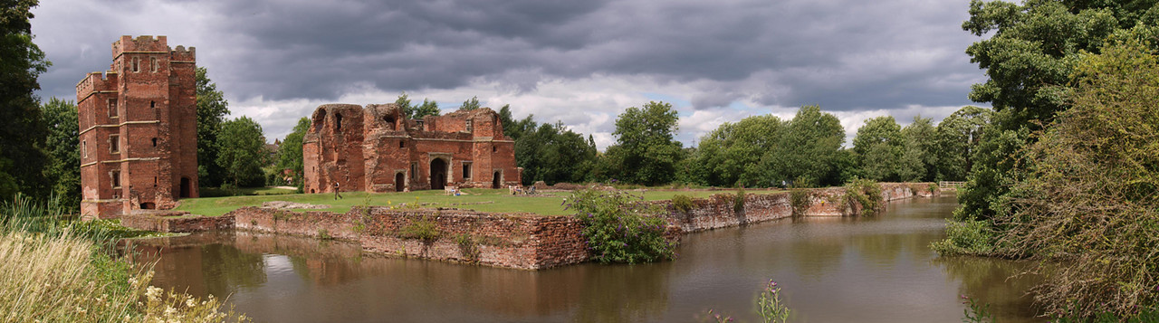 Kirby Muxloe Castle, Leicestershire.