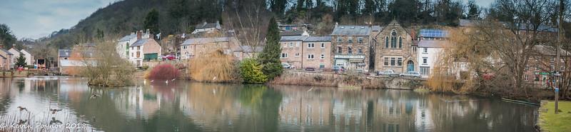 Cromford Village, Derbyshire.