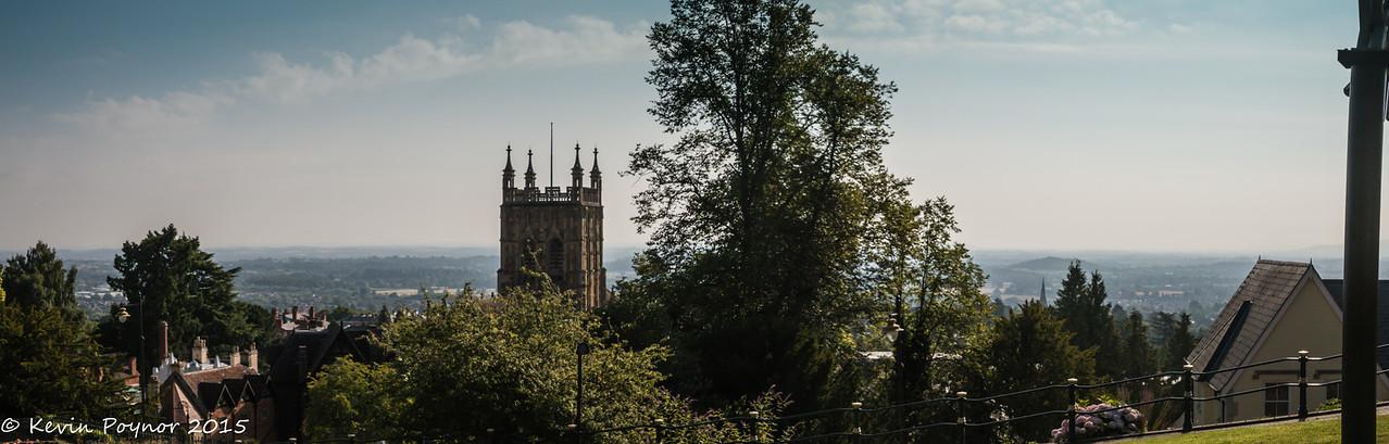 View from Rosebank Gardens, Great Malvern