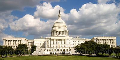 The Capital:  Washington DC. September 2013