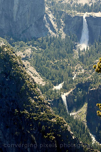 View from Glacier Pt. Nevada Falls