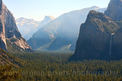 View from Glacier Pt. during sunrise. 6278c