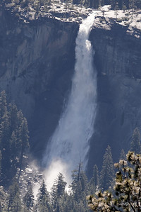 View of Nevada Falls from Glacier Points.  3673   7'11