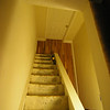 Stairs to 3rd floor were carpeted, have since been painted - need to update this one
